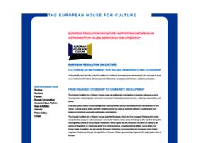 Houseforculture.eu thumbnail