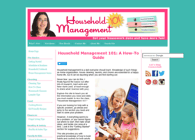 Household-management-101.com thumbnail