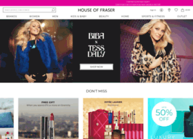 Houseoffraser.co.uk thumbnail