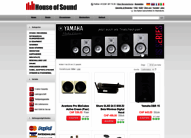 Houseofsound.ch thumbnail