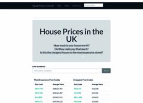 Housepricesintheuk.co.uk thumbnail