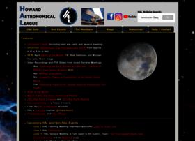 Howardastro.org thumbnail