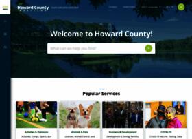 Howardcountymd.gov thumbnail
