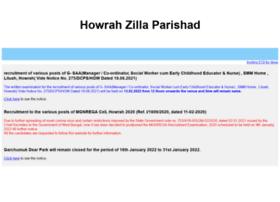Howrahzilaparishad.in thumbnail