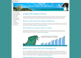 Howsafeismexico.com thumbnail