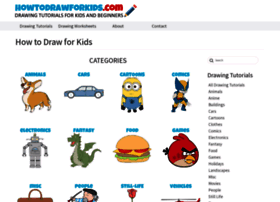 Howtodrawforkids.com thumbnail