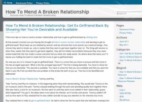 Howtomendabrokenrelationship.net thumbnail