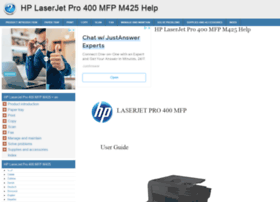Hp-laserjet-pro-400-mfp-m425.printerdoc.net thumbnail