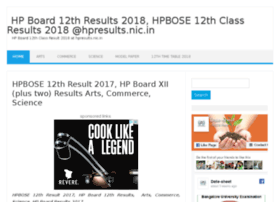 Hp.12thresultsnic.in thumbnail