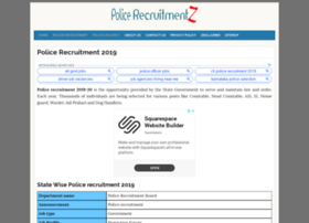 Hp.policerecruitments.in thumbnail