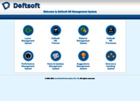 Hr.deftsoft.biz thumbnail