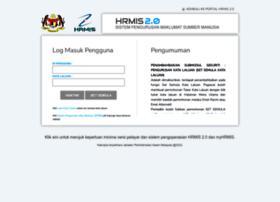 Hrmis2.eghrmis.gov.my thumbnail