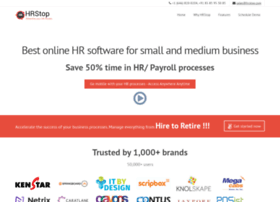 Hrstoppro Com At Wi Hrstop Best Hrms Hris Payroll Software For Small And Medium