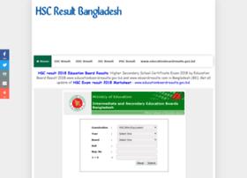 Hscresultbangladesh.com thumbnail
