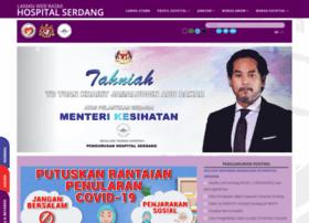 Hserdang.moh.gov.my thumbnail