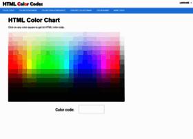 Html-color-codes.info thumbnail