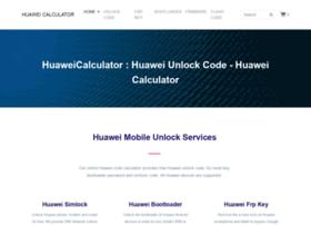 Huaweicalculator.com thumbnail