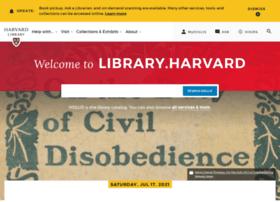 Hul.harvard.edu thumbnail