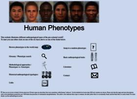 Humanphenotypes.net thumbnail