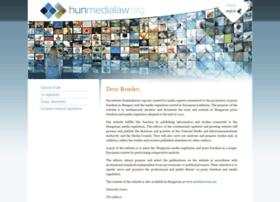 Hunmedialaw.org thumbnail