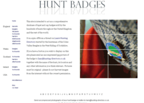 Hunt-badges.co.uk thumbnail