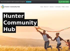 Huntercommunityhub.org thumbnail
