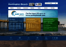 Huntingtonbeachca.gov thumbnail