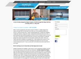 Huntleygaragedoorrepair.biz thumbnail