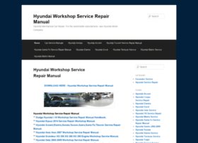 Hyundaiworkshopservicerepair.wordpress.com thumbnail