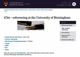 I-cite.bham.ac.uk thumbnail