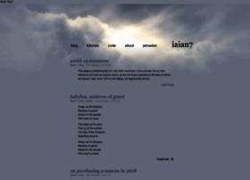 Iaian7.com thumbnail