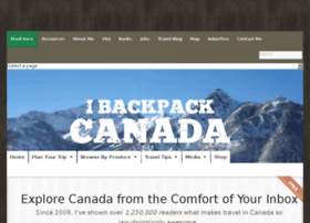 Ibackpackcanada.com thumbnail