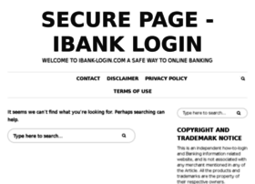 Ibank-login.com thumbnail