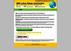 Ibm.lotusnotesconversion.com thumbnail