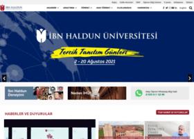 Ibnhaldun.edu.tr thumbnail