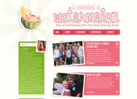 Icarriedawatermelon.co.uk thumbnail