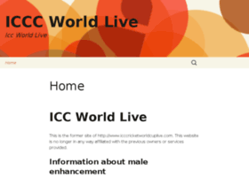 Icccricketworldcuplive.com thumbnail