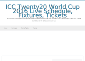 Icct20wc2016.co.in thumbnail