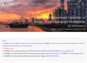 Icdmm2017.org thumbnail