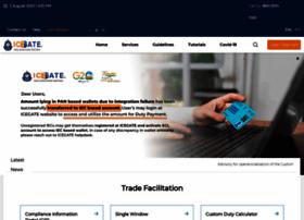 Icegate.gov.in thumbnail
