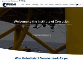 Icorr.org thumbnail