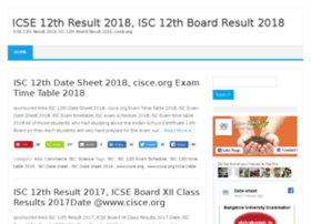 Icse.12thresultsnic.in thumbnail