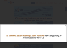 Icser.org thumbnail