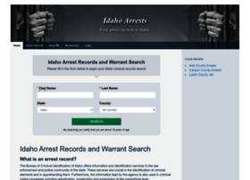 Idahoarrests.org thumbnail