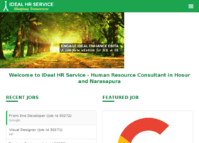 Idealhrservice.in thumbnail
