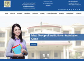 Idealinstitute.ac.in thumbnail