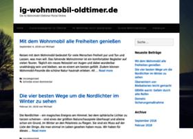 Ig-wohnmobil-oldtimer.de thumbnail