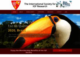 Igf-society.org thumbnail