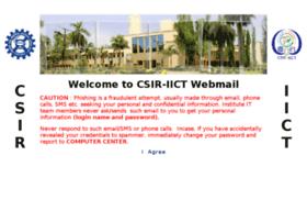 Iictmail.iict.res.in thumbnail