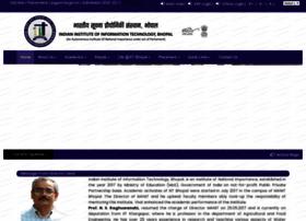 Iiitbhopal.ac.in thumbnail